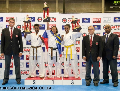 7th All Africa podium trophy images